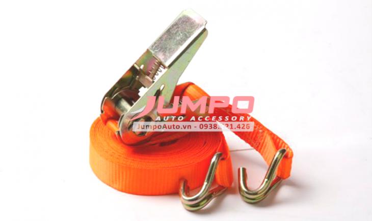 Ứng dụng dây chằng hàng tăng đơ bản 25mm móc J