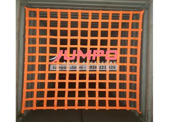 Lưới bẹ trùm hàng thùng xe tải containet 2x2.2 mét