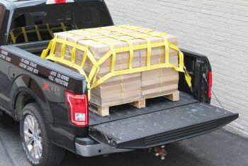 Lưới trùm bọc ngăn hàng thùng xe