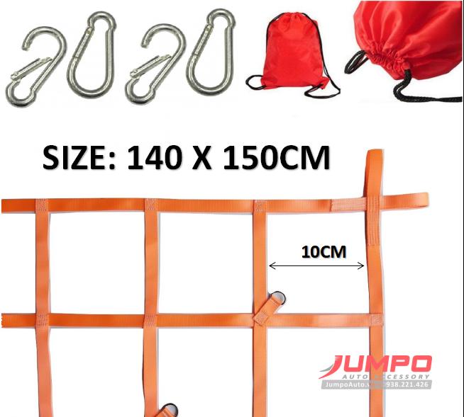 Lưới trùm hàng thùng xe bán tải CN25SQ10-150X140