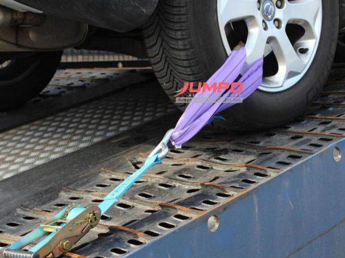 Dây round sling vận chuyển ô tô -4 dây