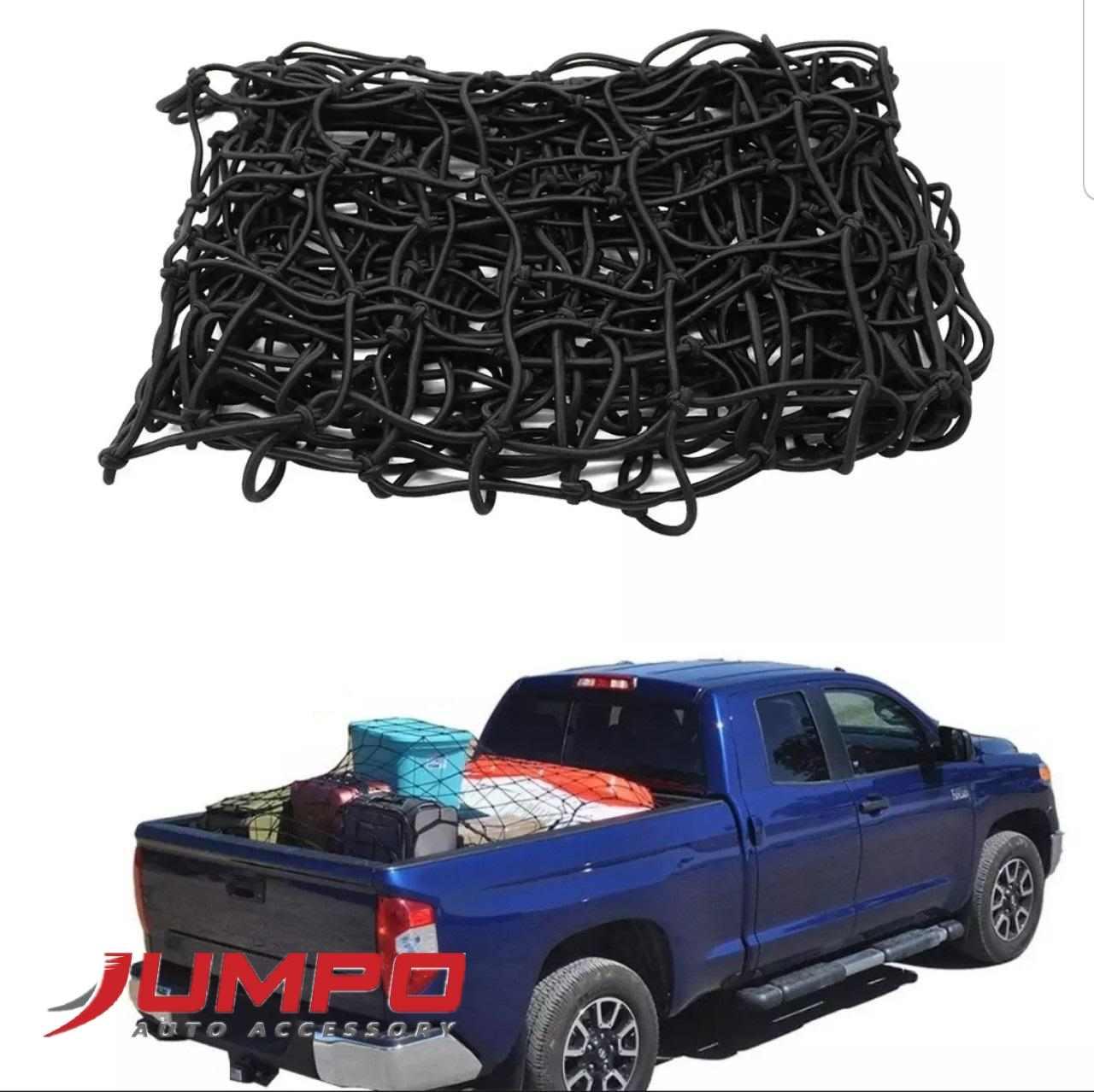Lưới thun thùng xe bán tải ô 10cm kích thước 120x180cm