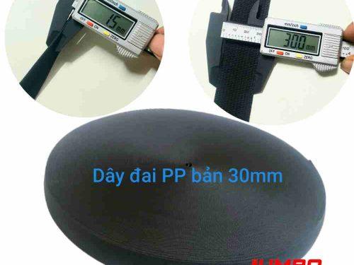 Dây đai PP bản 30mm dày 1.5mm