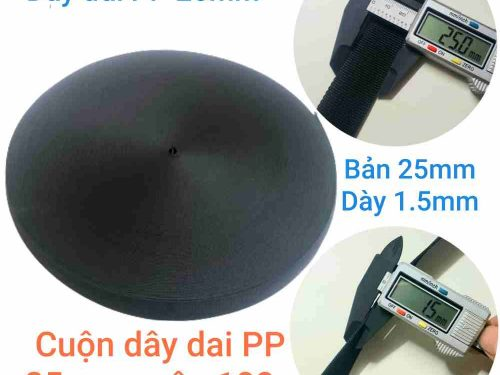 Dây đai dệt PP bản 25mm